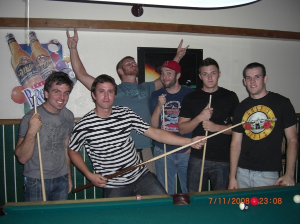 The Boys - Cody, Eric, Kenny, the Boyfriend, Eric S, and Brandon